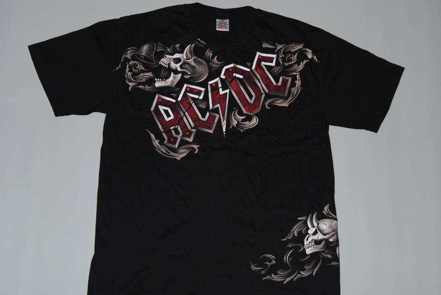 6545cc6e73 AC DC - Hells Bells Devils - černé pánské tričko